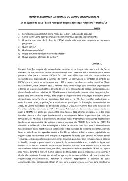 Memória resumida campo socioambiental _14/08/12
