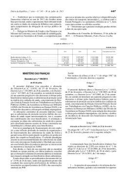 Decreto-Lei n.º 105/2013