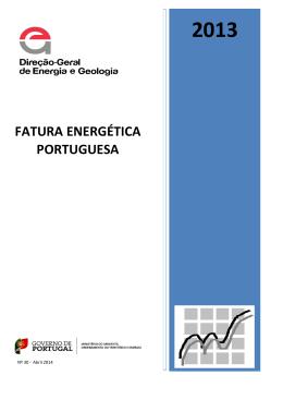 + Fatura Energética Portuguesa 2013, DGEG