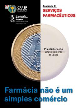 Fascículo III Serviços farmacêuticos - CRF-SP