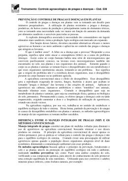 Controle agroecológico de pragas e doenças – Cód. 539