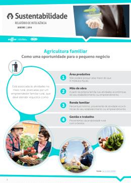 Sustentabilidade - Agricultura familiar