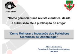 Como Melhorar a Indexação dos Periódicos Científicos de