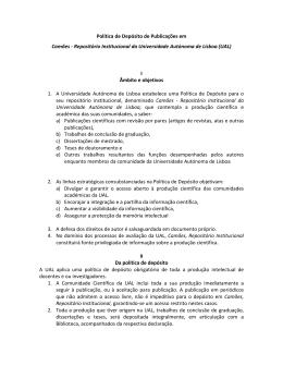 Consulte a Política de Depósito para o Repositório Institucional da