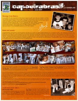 June - Capoeira Brasil Los Angeles