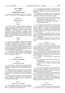 Lei 13/2006 - Comissão Nacional de Protecção das Crianças e
