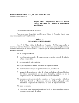 LEI COMPLEMENTAR Nº 44, DE 3 DE ABRIL DE 2006. Dispõe