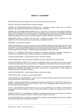 Anexo 2. Glossário