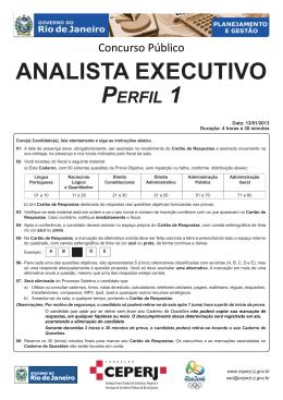 Analista Executivo - Perfil 1.indd