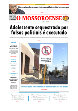 Capa O Mossoroense PC - 11-8.qxd - Fora do ar