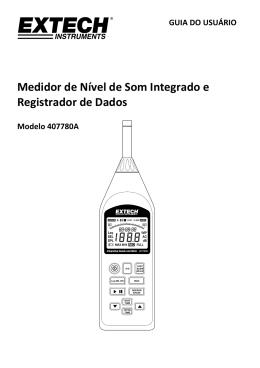 Medidor de Nível de Som Integrado e Registrador de Dados