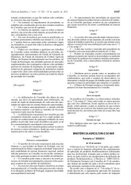 Portaria n.º 305/2013 - Direção-Geral de Alimentação e Veterinária