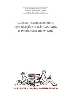 Guia de planejamento e orientações didáticas – 2º ano