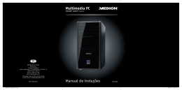 Multimedia PC Manual de Instuções