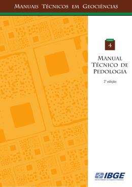 Manual Técnico de Pedologia