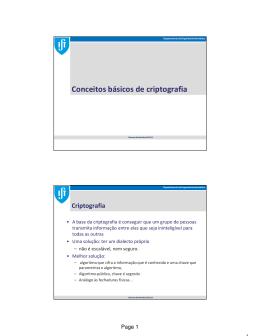 Seguranca 2013 - Instituto Superior Técnico