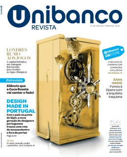 REVISTA - Unibanco