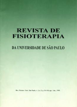 artigos - Revista Fisioterapia e Pesquisa