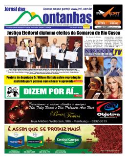 DIZEM POR AÍ... - JM1 Jornal das Montanhas Manhuaçu MG