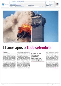 11 anos após o 11 de setembro