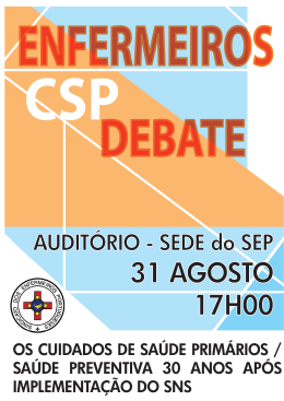 AUDITÓRIO - SEDE do SEP - 31 AGOSTO
