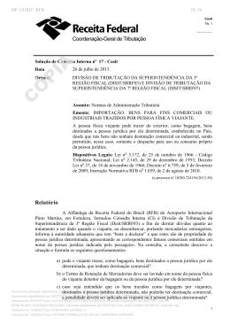 SCI Cosit nº 17-2013 - Sistema Normas