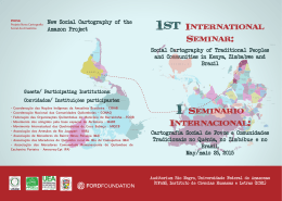 Folder-Seminário Internacional