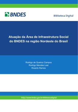 Atuação da Área de Infraestrutura Social do BNDES_2_P