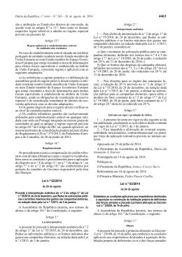 Diário da República, 1.ª série — N.º 163 — 26 de agosto de 2014