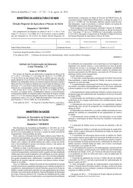 Despacho n.º 10218/2014 - Direcção