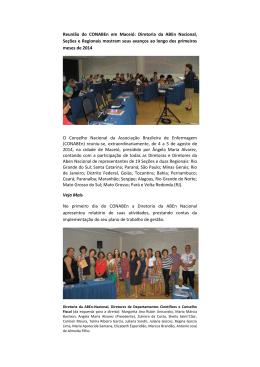 Leia Mais - Associação Brasileira de Enfermagem