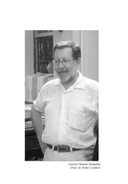 António Manuel Hespanha - Análise Social