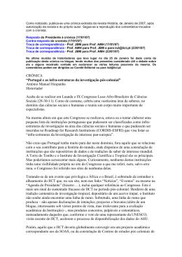 """Crónica extraída da revista """"História"""""""