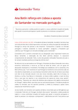 Ana Botín reforça em Lisboa a aposta pdf