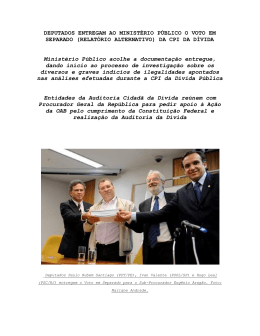 Boletim Final da CPI da Dívida – 18.05.2010
