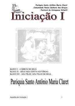 Paróquia Santo Antônio Maria Claret Comunidade Nossa Senhora