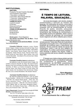 É TEMPO DE LEITURA, PALAVRA, EDUCAÇÃO