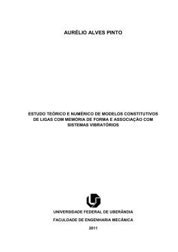 AURÉLIO ALVES PINTO - RI UFU - Universidade Federal de