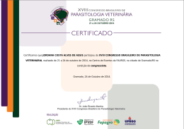 Certificamos que JORDANA COSTA ALVES DE ASSIS participou do