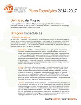 Plano Estratégico 2014–2017