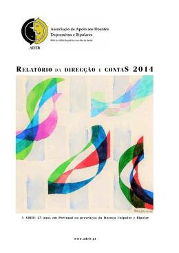 + VER PDF - Associação de Apoio aos Doentes Depressivos e