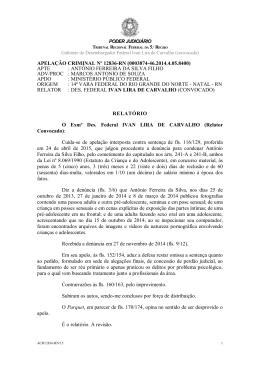 APELAÇÃO CRIMINAL Nº 12836-RN (0003874