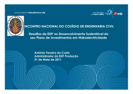 António Ferreira da - Ordem dos Engenheiros