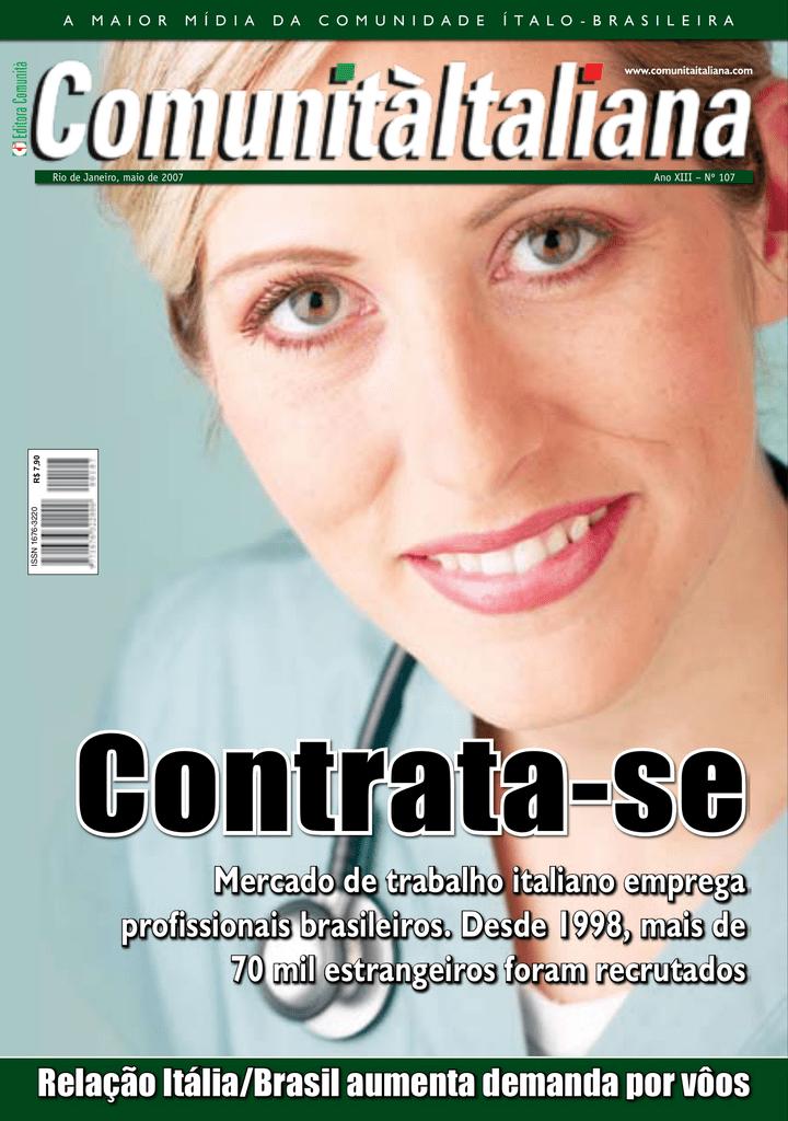 Mercado de trabalho italiano emprega 9ac44bf955e69