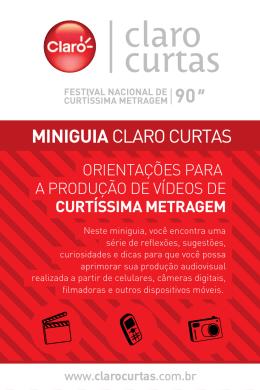 MINIGUIA CLARO CURTAS