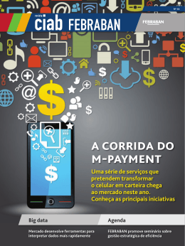 A corridA do m-pAyment