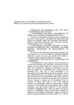 Apelação Cível n. 2012.070691-0, de São Bento do Sul Relator