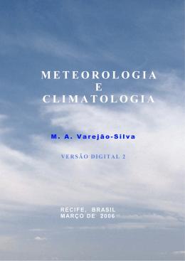 Meteorologia e Climatologia - Instituto de Ciências Atmosféricas