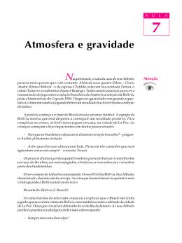 07. Atmosfera e gravidade