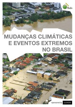 Mudanças Climáticas e Eventos Extremos no Brasil